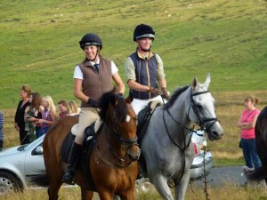 This is at the Lauder Common Riding in Scotland In August 2013